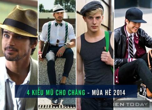 4 kieu mu cho chang – mua he 2014