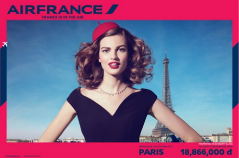 Air France uu dai dip he