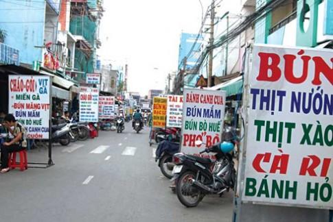 An rong pho Sai Gon, o dau ngon?