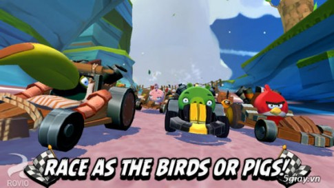 Angry Birds Go- Game hay mien phi