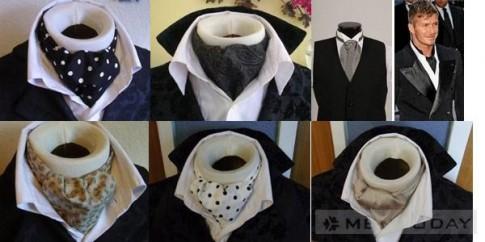 Ascot tie – Phu kien thay the cravat