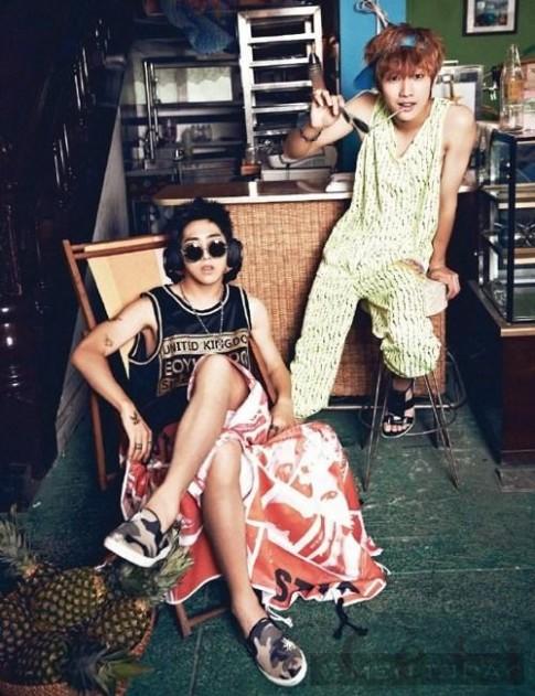 B1A4 cung 'nha vua' Yoo Ah In hoa nhung chang trai mua he