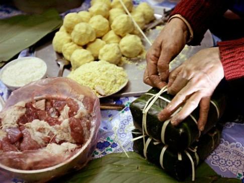 Banh chung Viet Nam vao top mon an le hoi the gioi