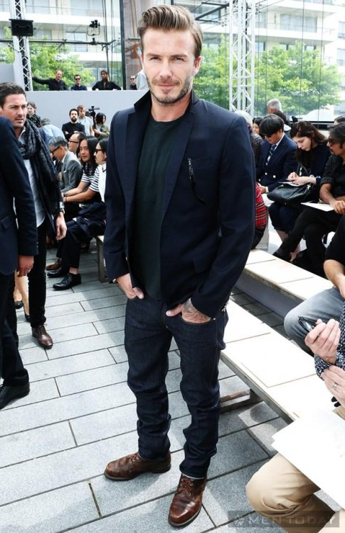 Becks và dàn sao tham dự show thời trang Louis Vuitton