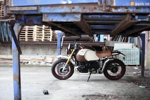 BMW R Nine T đẹp mắt với phiên bản Desert Scrambler