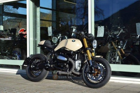 BMW R Nine T do manh me dam chat Cafe Racer
