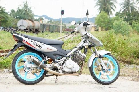 Bo anh Suzuki Fx125 bac mang phong cach touring