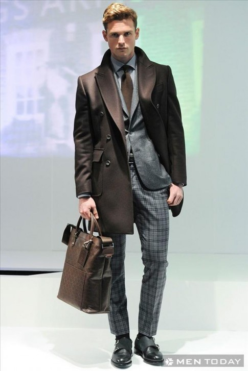 Bộ sưu tập thời trang nam thu đông 2014 của Hardy Amies   LCM