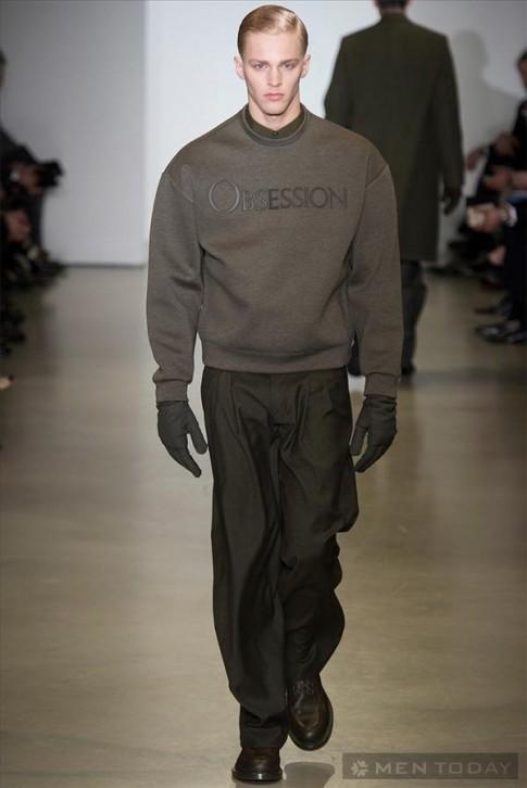 BST thoi trang nam thu dong 2014 cua Calvin Klein | MFW