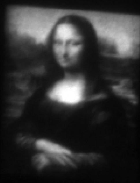 Bức tranh nàng MonaLisa siêu nhỏ