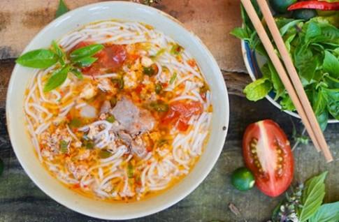 Bun rieu Cai Rang vao top mon an ngon phai thu