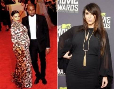 Cach giam can nhanh va hieu qua sau sinh cua Kim Kardashian