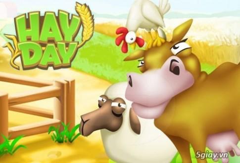 Cach kiem do nang cap kho trong Hay Day nhanh nhat