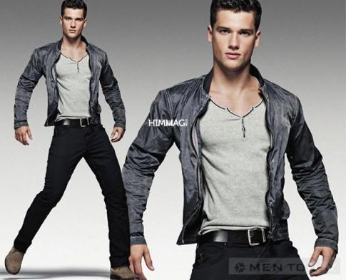 Casual khoe khoan cua Armani Jeans SS 2012