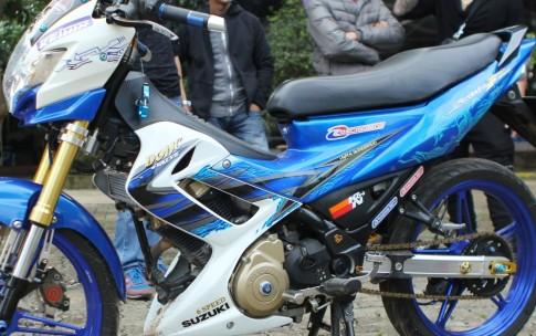 Chiếc Suzuki Raider 150R độ đồ chơi lên đến 100 triệu đồng