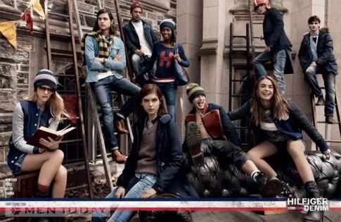 Chiến dịch thời trang nam thu đông 2013 từ Tommy Hilfiger
