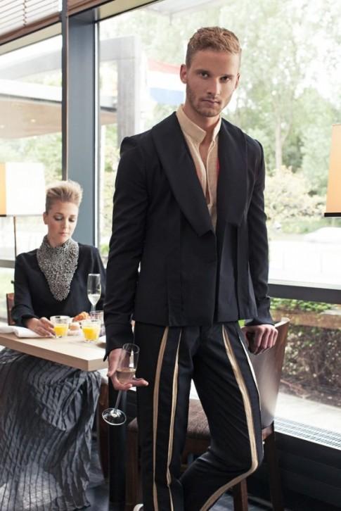 Chiến dịch thời trang nam xuân hè 2014 từ Allan Vos