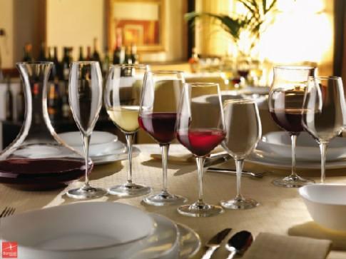 Chọn ly phù hợp với các loại rượu