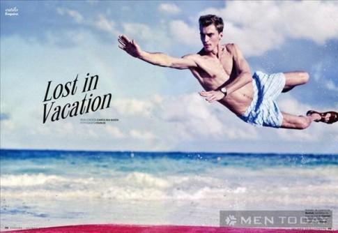 Clément Chabernaud đơn giản và khỏe khoắn trên Esquire España