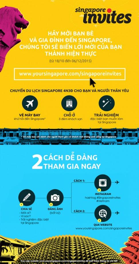Co hoi du lich Singapore mien phi