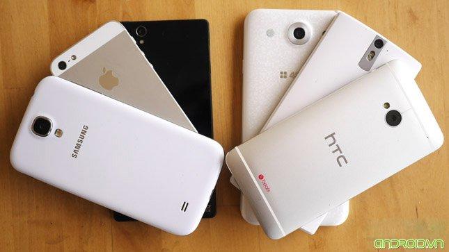 Cong nghe nao dot pha tiep theo cho smartphone ?