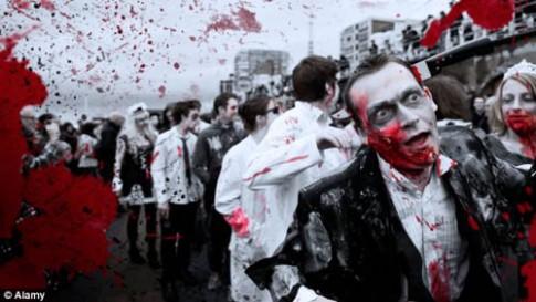 Cuộc diễu hành chết chóc bị hủy vì quá tải 'thây ma'