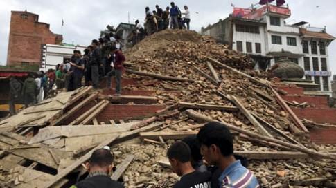 Cuong do dong dat Nepal tuong duong 20 qua bom nguyen tu