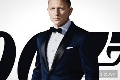 Dien suit va tuxedo lich lam, sang trong nhu James Bond
