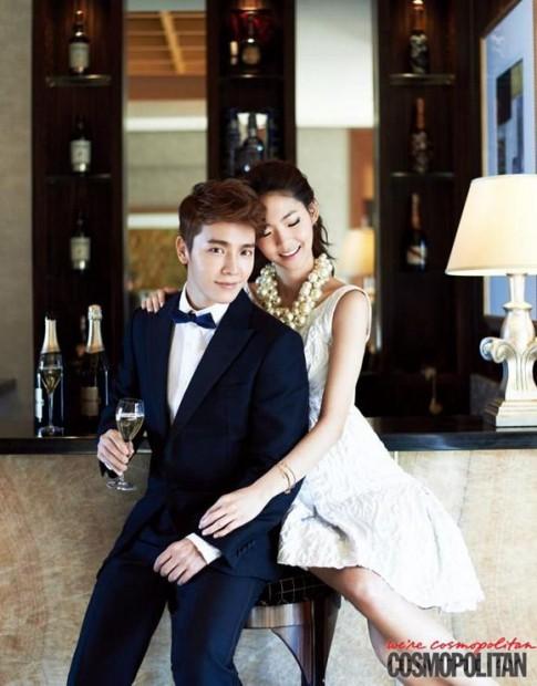 Donghae lich lam tren tap chi Cosmopolitan