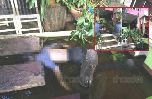 Du khach chet duoi bat thuong trong ao ca o Chiang Mai