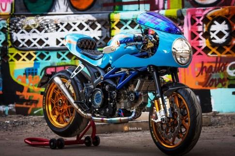 Ducati Monster 796 lột xác đầy ngoạn mục với phiên bản Cafe Racer
