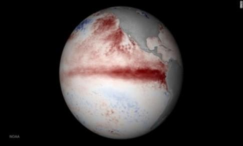 El Nino hoanh hanh o muc ky luc trong nam 2015