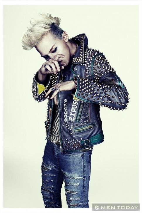 G-Dragon sanh dieu va noi loan tren tap chi Complex