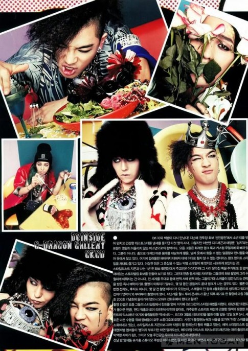 G-Dragon va Taeyang ru nhau 'tung hoanh' tren Vogue Korea
