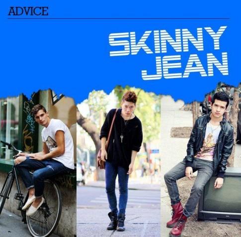 Goi y: Cach chon quan skinny jean nam