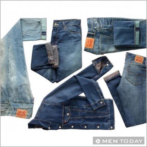 Gợi ý: quần jeans nhãn Levi's cho các chàng