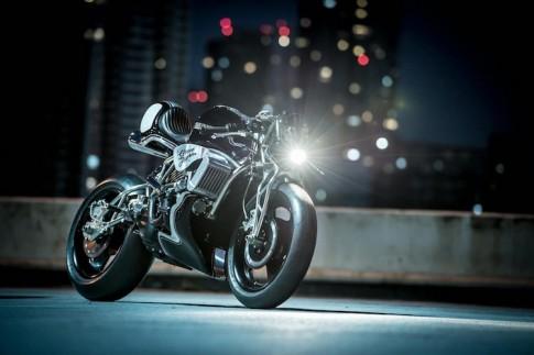Harley-Davidson Street 750 độ streetfighter với động cơ tăng áp