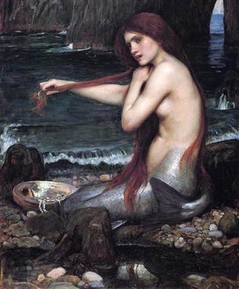 Hiẹn tuọng nàng tien cá ngoài dòi thục