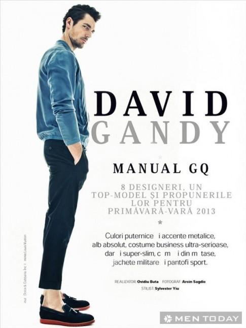 Hinh anh moi nhat cua David Gandy tren GQ Romani