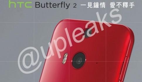 HTC Butterfly 2 trang bi chong nuoc lo anh