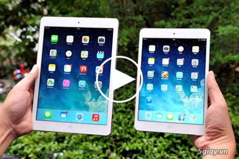 iPad mini Retina vs iPad Air - co gi khac biet