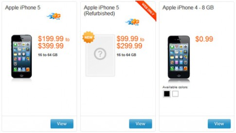 iPhone 5 co hang 'refurbished' som, gia tu 99 USD