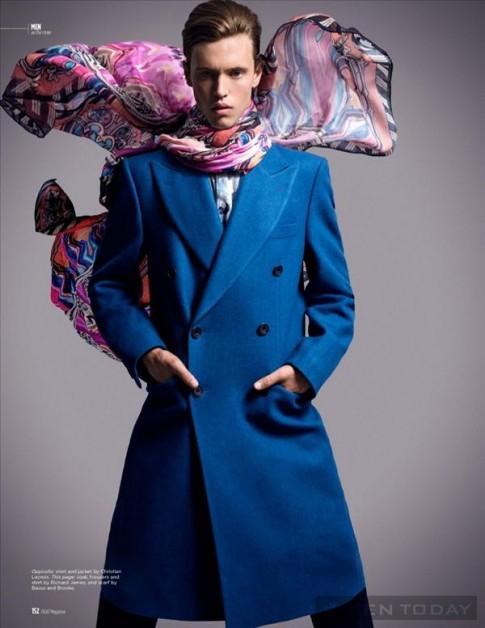 Jake Cooper trẻ trung và quyến rũ với màu sắc, họa tiết ấn tượng