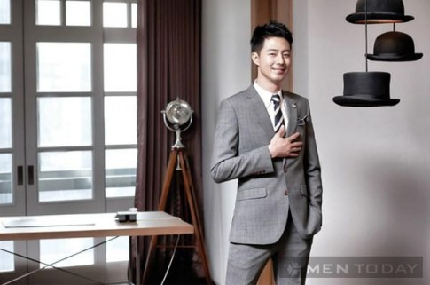 Jo In Sung lich lam voi thoi trang J.Hass