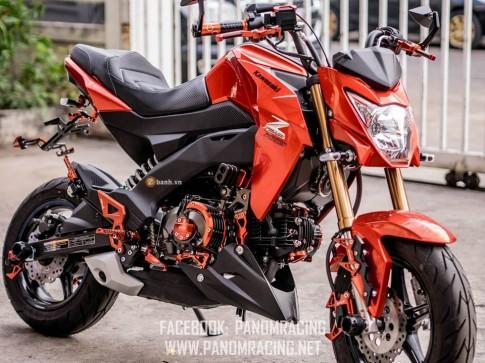 Kawasaki Z125 đầy nổi bật trong phiên bản DARK ZAD
