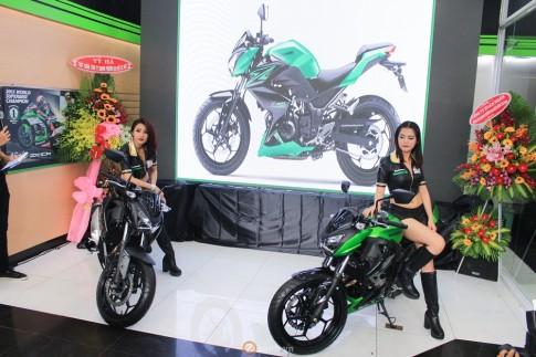 Kawasaki Z300 ABS chinh thuc duoc ban chinh hang tai Viet Nam