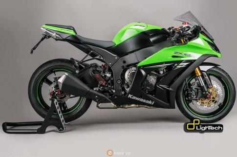 Kawasaki ZX10R phien ban full Lightech