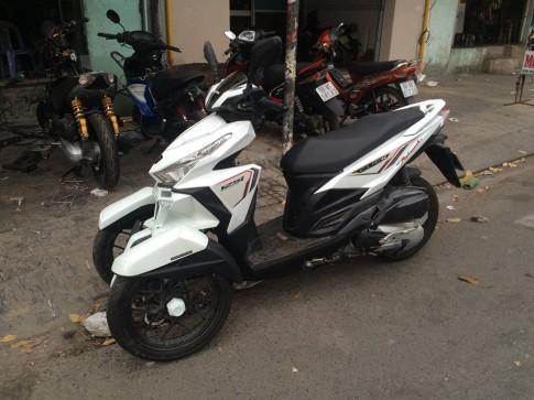 Kich doc voi chiec Honda Click 125i do 3 banh tai VN