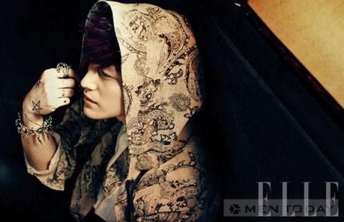 Kim Bum, Kim Kang Woo do nam tinh