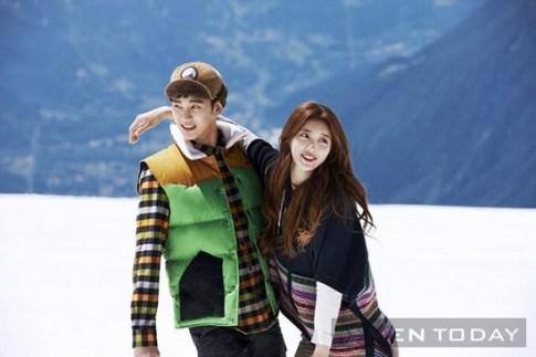 Kim Soo Huyn – Suzy ngọt ngào, lãng mạn giũa mùa dong tuyét gia